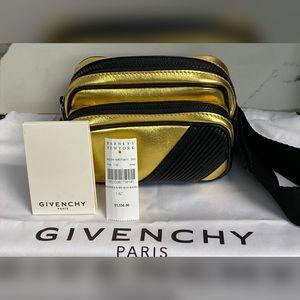 Givenchy MC3 Bum  Bag Gold Metallic & Black